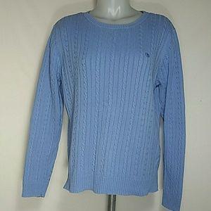 Izod Slate Blue Sweater
